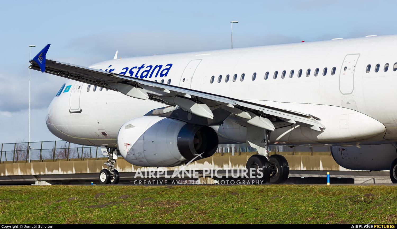Air Astana P4-NAS aircraft at Amsterdam - Schiphol