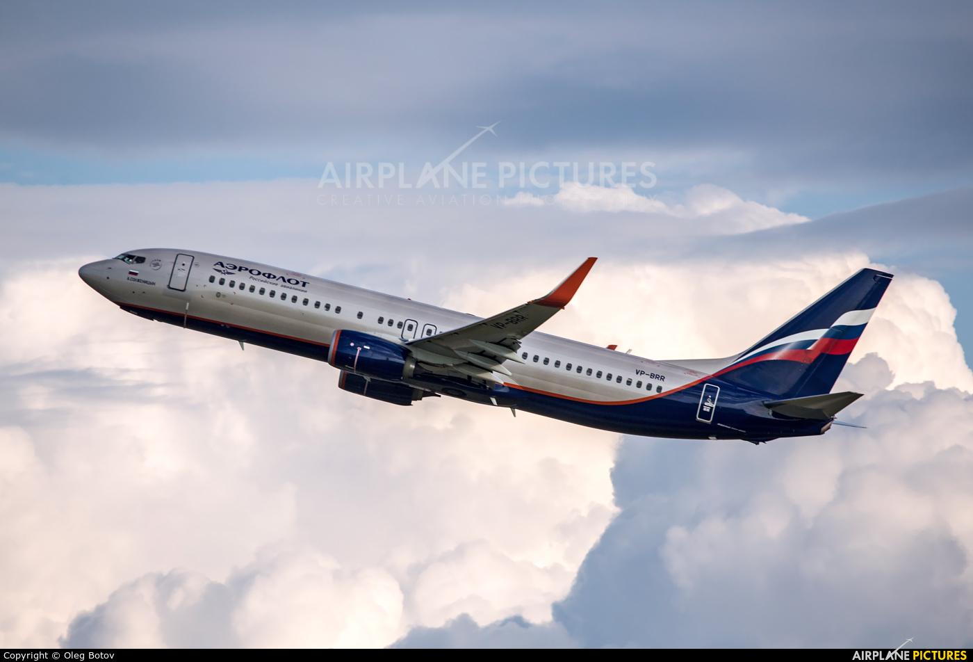 Aeroflot VP-BRR aircraft at Moscow - Sheremetyevo