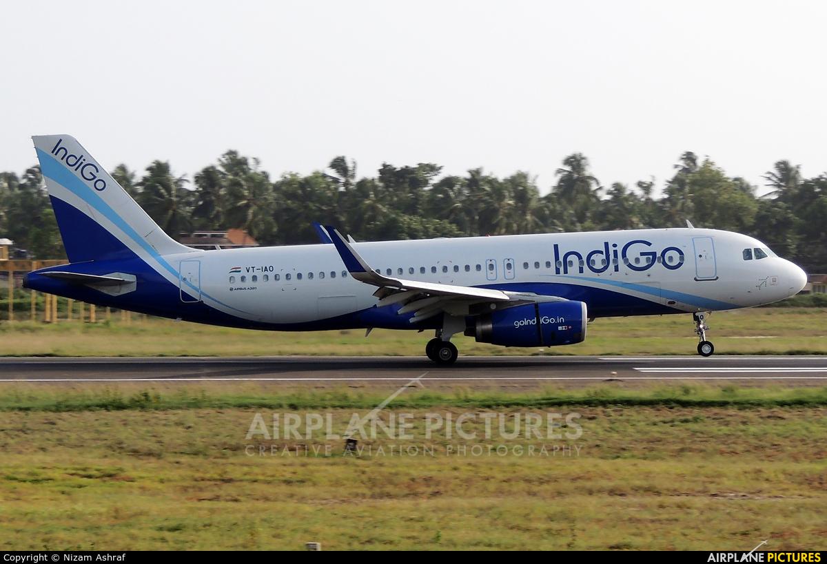 IndiGo VT-IAO aircraft at Trivandrum Intl