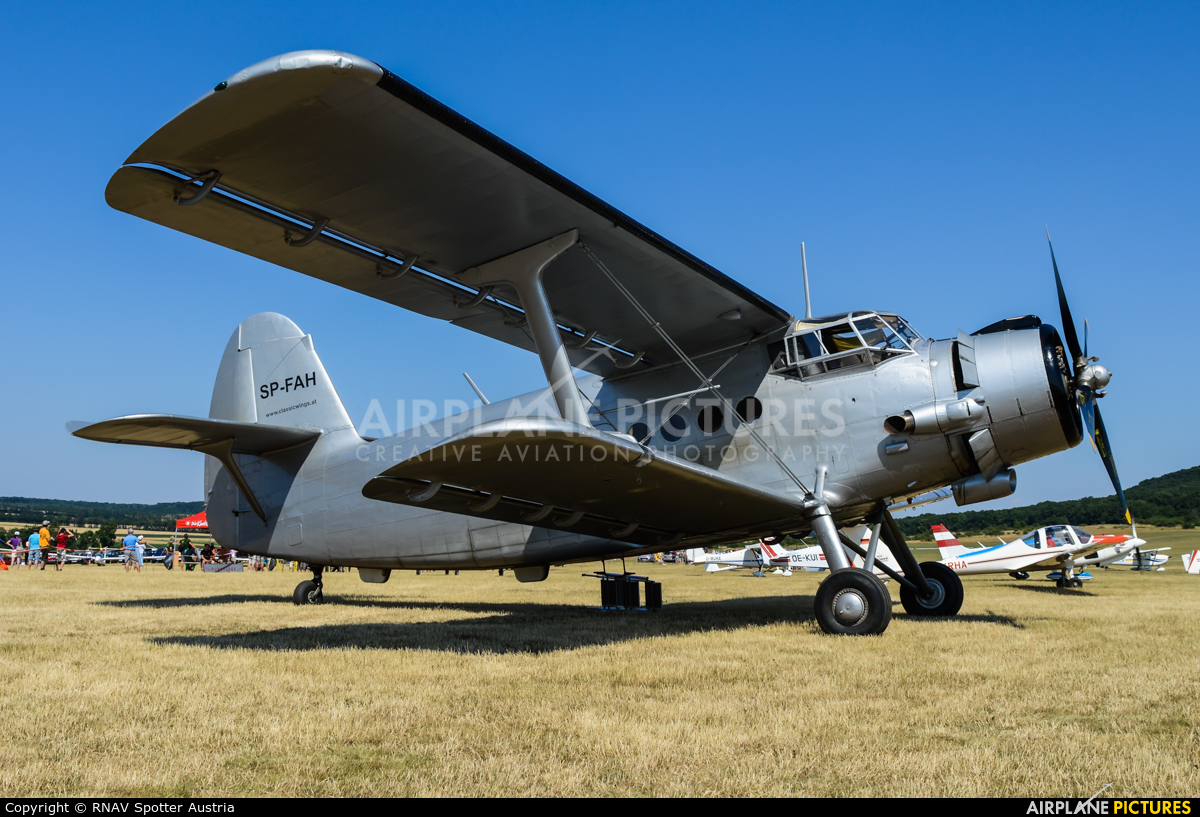 Classic Wings SP-FAH aircraft at Spitzerberg