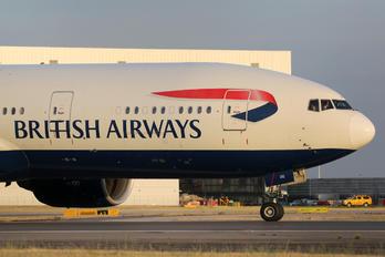 G-VIIG - British Airways Boeing 777-200