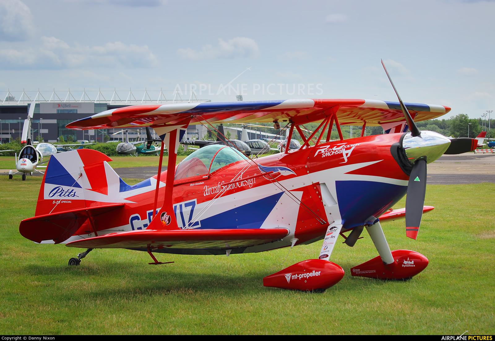 Rich Goodwin Airshows G-EWIZ aircraft at Manchester - Barton