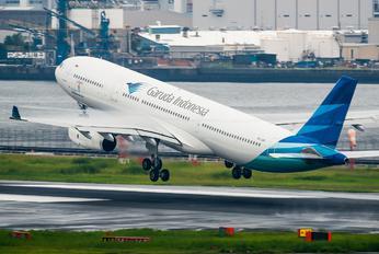 PK-GPR - Garuda Indonesia Airbus A330-300