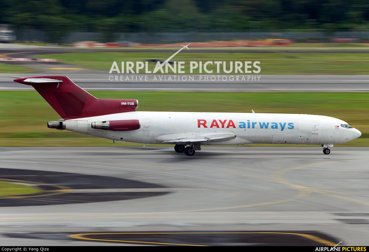 Raya Airways 9M-TGE aircraft at Singapore - Changi