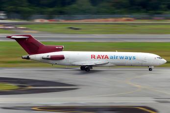 9M-TGE - Raya Airways Boeing 727-200F (Adv)