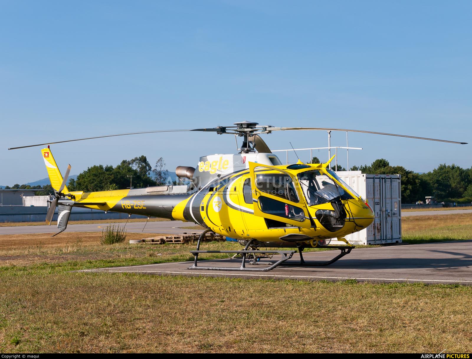 Swift Copters HB-ZSE aircraft at Braga