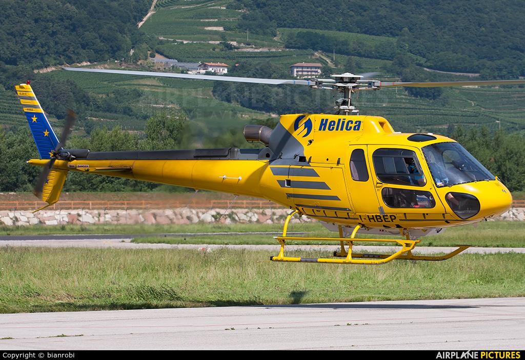 Helica I-HBEP aircraft at Trento - Mattarello