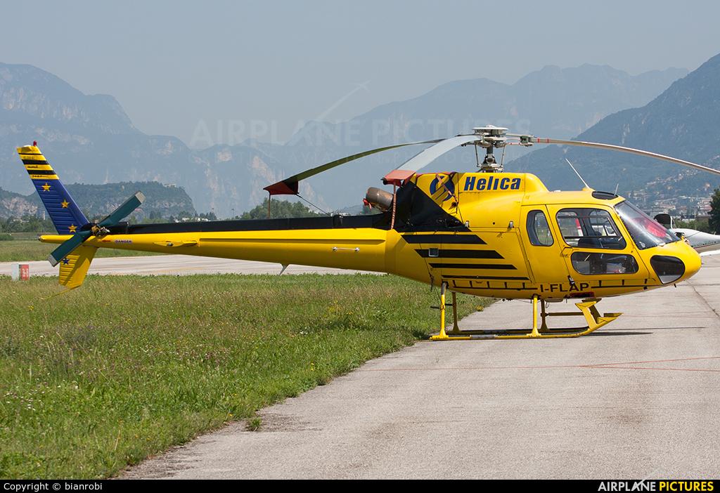 Helica I-FLAP aircraft at Trento - Mattarello