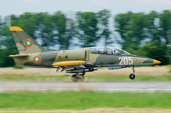 205 - Bulgaria - Air Force Aero L-39ZA Albatros