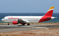 EC-LKG - Iberia Express Airbus A320 aircraft