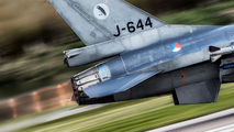 J-644 - Netherlands - Air Force General Dynamics F-16A Fighting Falcon aircraft