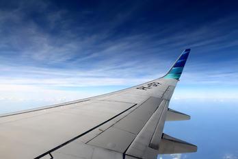 PK-GFP - Garuda Indonesia Boeing 737-800