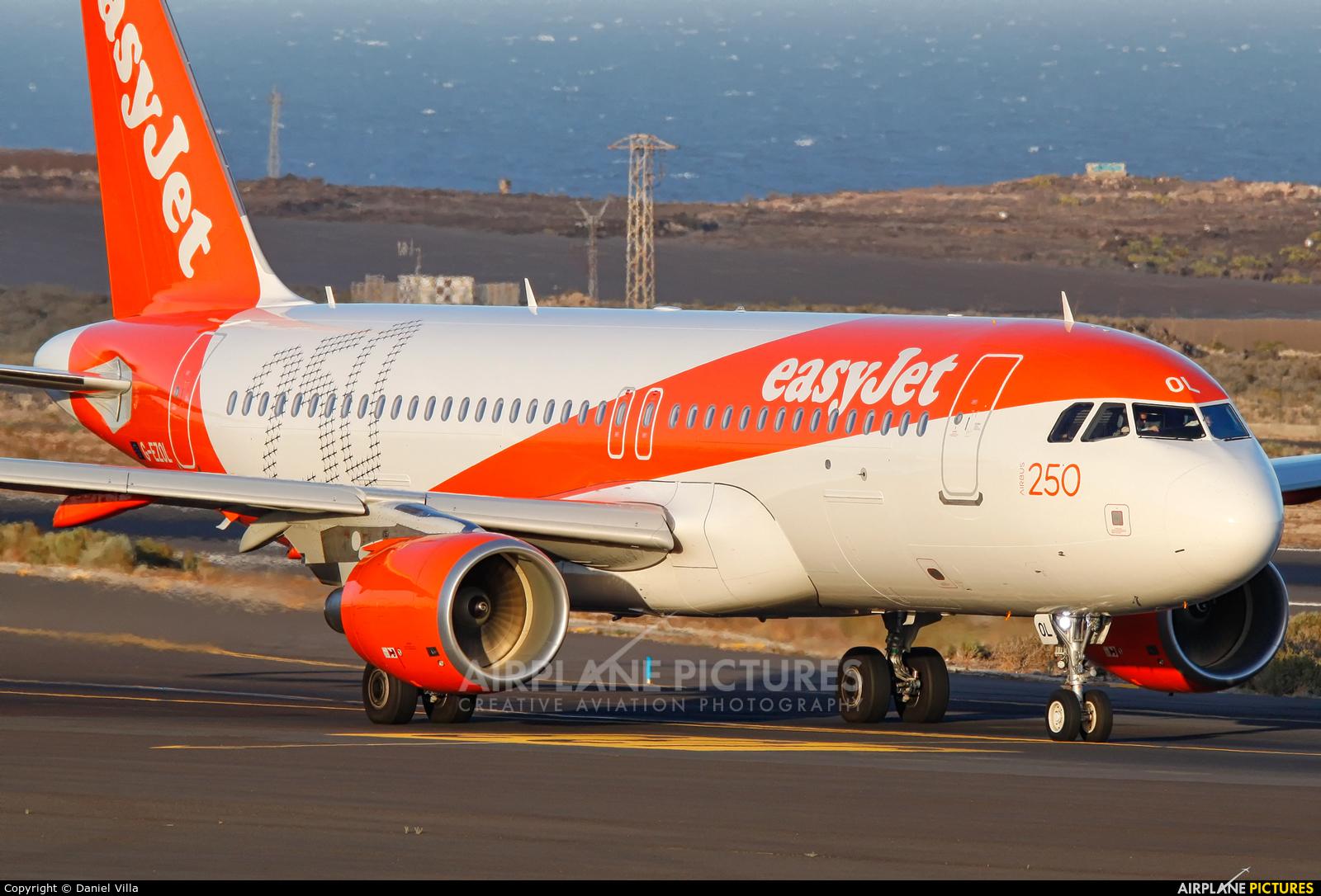 easyJet G-EZOL aircraft at Tenerife Sur - Reina Sofia