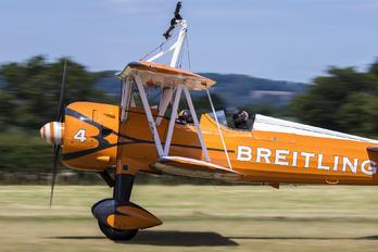 SE-BOG - Breitling Wingwalkers Boeing Stearman, Kaydet (all models)