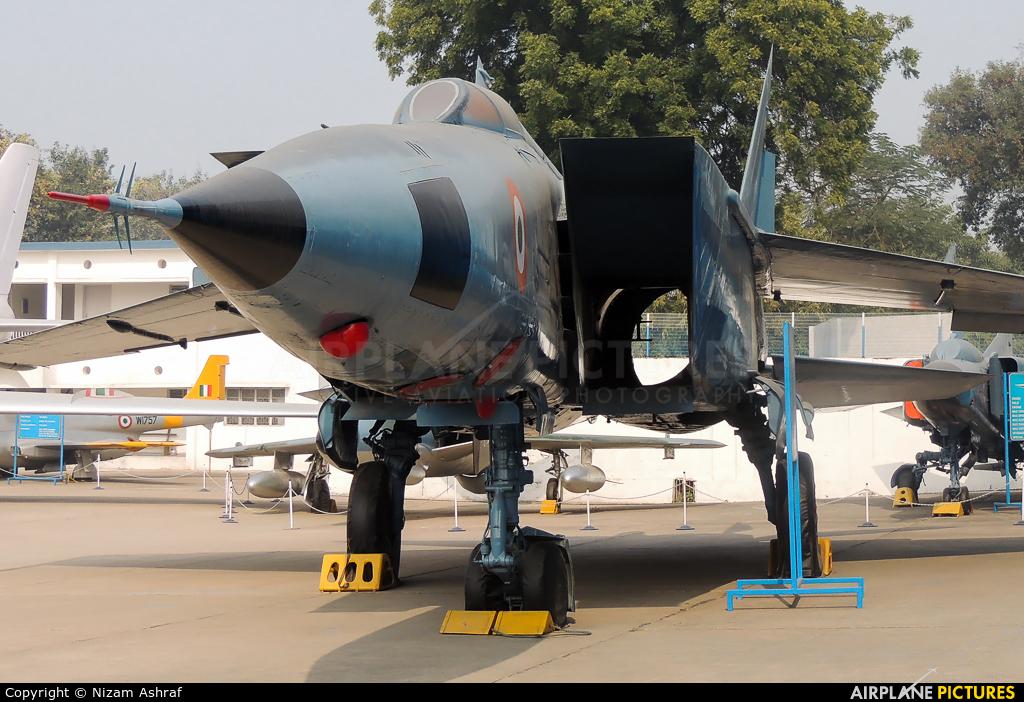India - Air Force KP-355 aircraft at Off Airport - India