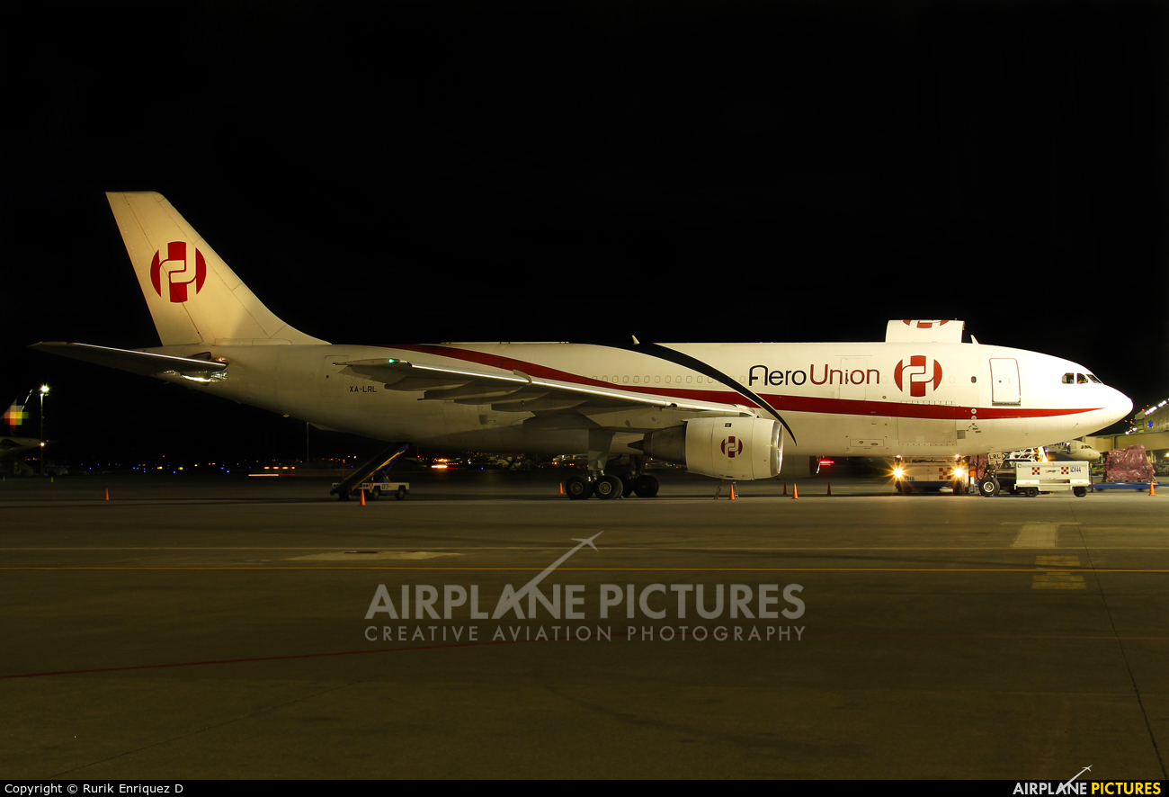 Aero Union XA-LRL aircraft at Miguel Hidalgo y Costilla Intl