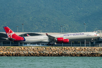G-VBLU - Virgin Atlantic Airbus A340-600