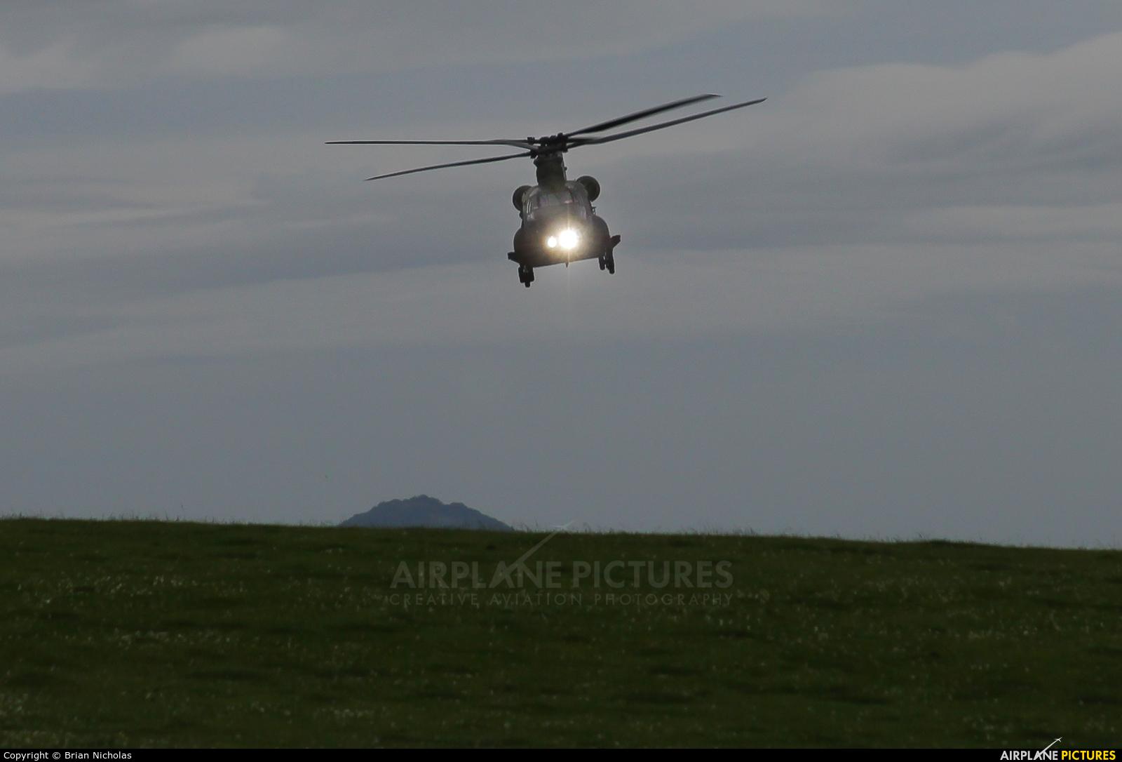 Royal Air Force ZA720 aircraft at Off Airport - Wales