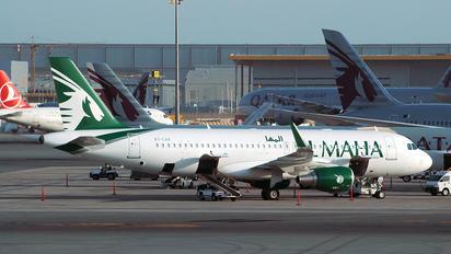 A7-LAA - Al Maha Airways Airbus A320