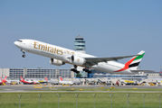 A6-ENU - Emirates Airlines Boeing 777-300ER aircraft