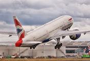 G-VIIS - British Airways Boeing 777-200 aircraft