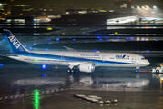 JA839A - ANA - All Nippon Airways Boeing 787-9 Dreamliner aircraft