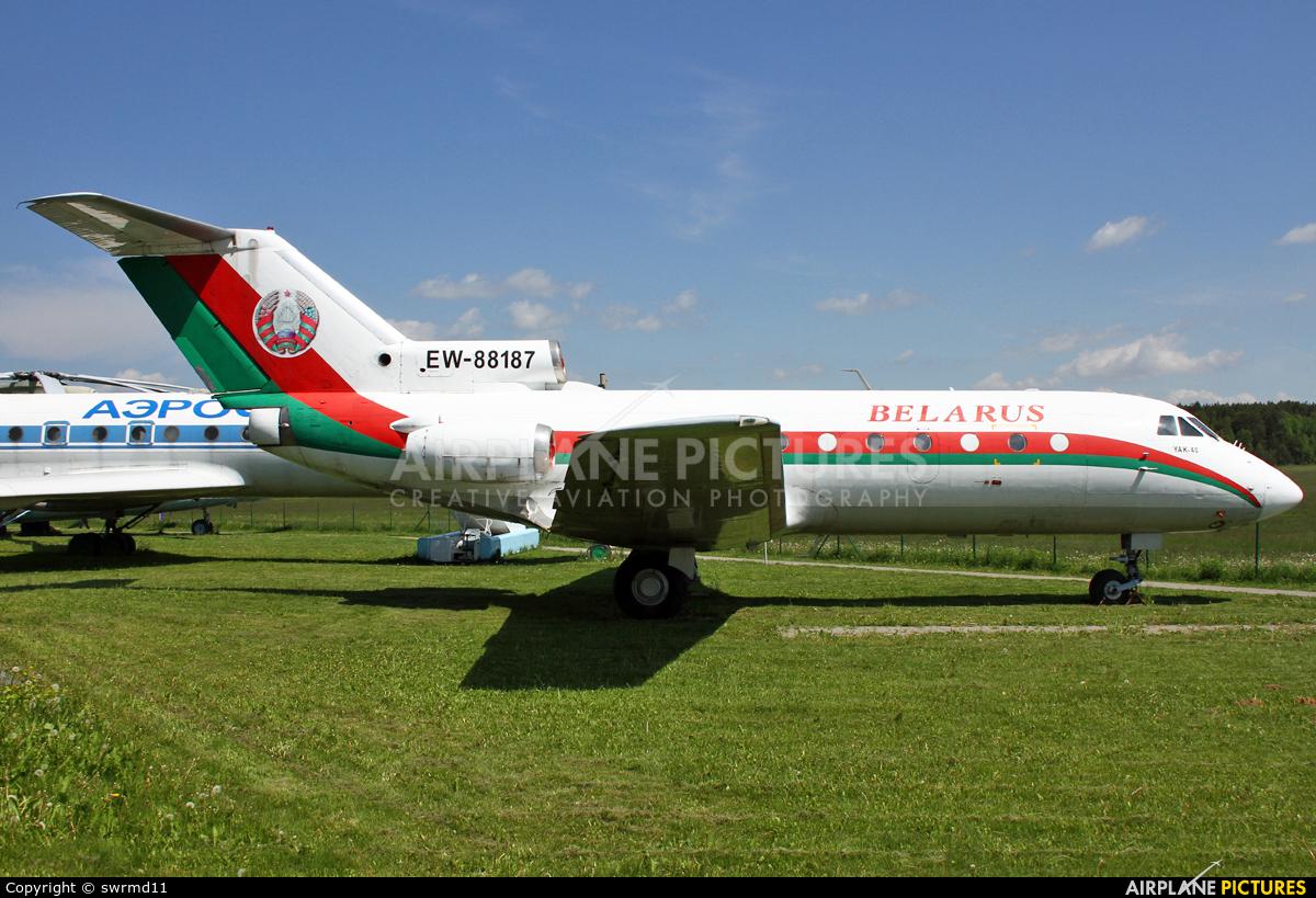 Belarus - Government EW-88187 aircraft at Borovaya