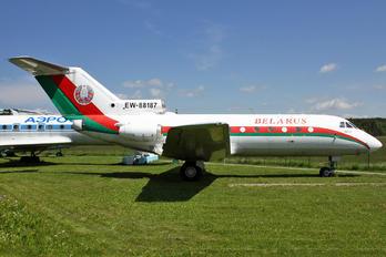 EW-88187 - Belarus - Government Yakovlev Yak-40