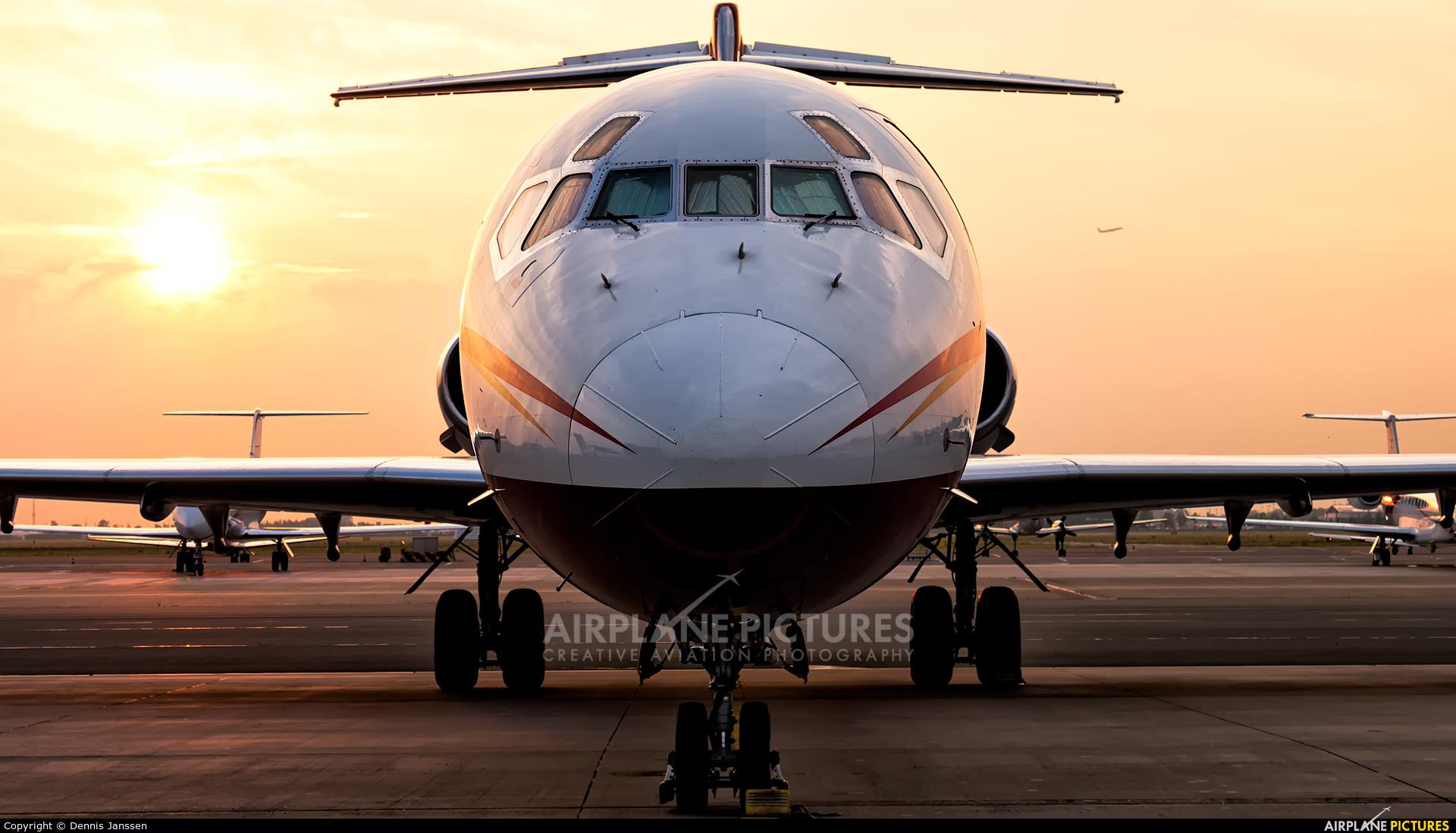 Sunrider Corporation N168CF aircraft at Amsterdam - Schiphol