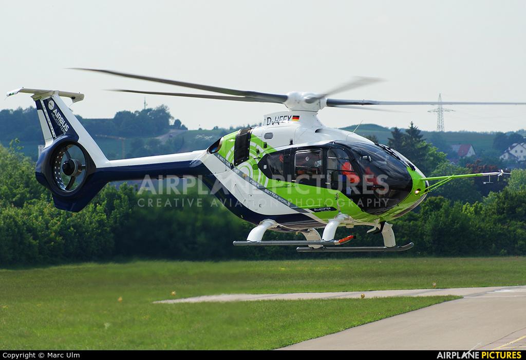 Eurocopter D-HEEX aircraft at Donauwörth - Eurocopter Heliport