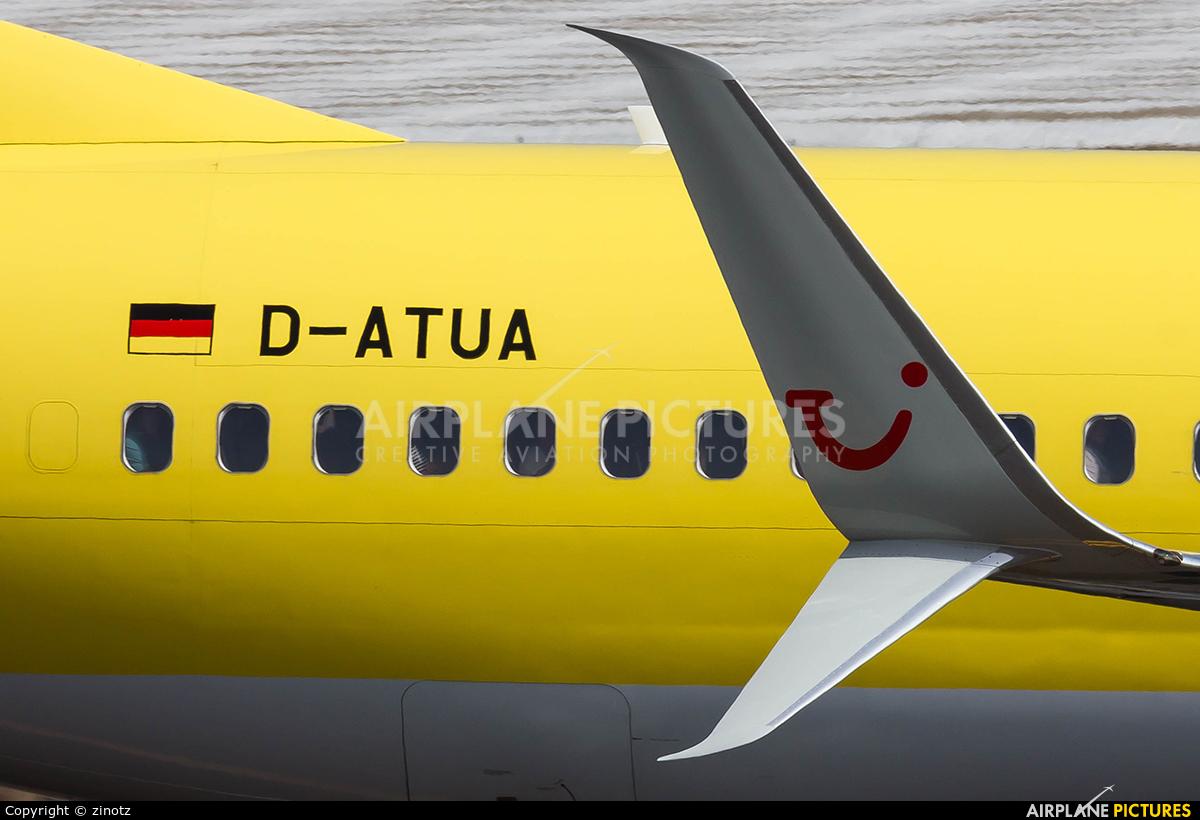 TUIfly D-ATUA aircraft at Tenerife Sur - Reina Sofia