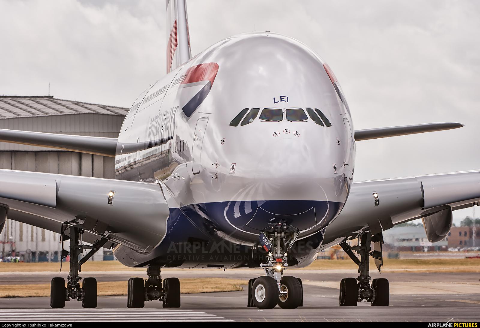 British Airways G-XLEI aircraft at London - Heathrow