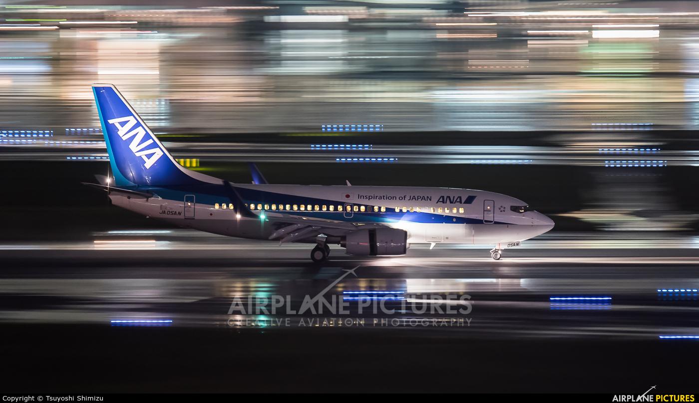 ANA - All Nippon Airways JA05AN aircraft at Tokyo - Haneda Intl