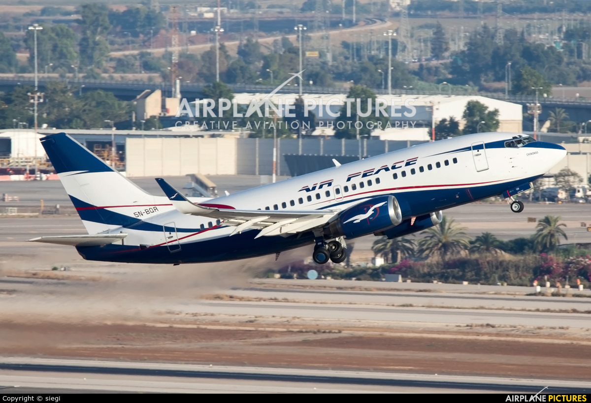 5n Bqr Air Peace Boeing 737 500 At Tel Aviv Ben Gurion Photo Id 585516 Airplane Pictures Net