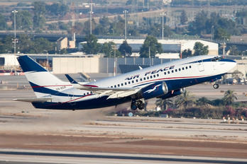 5N-BQR - Air Peace Boeing 737-500