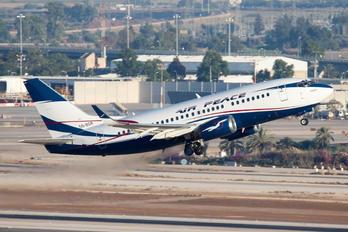 5N-BQR - Air Peace Boeing 737-500