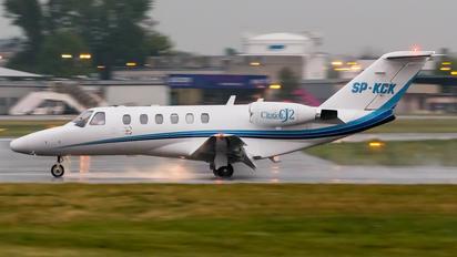 SP-KCK - Blue Jet Cessna 525A Citation CJ2