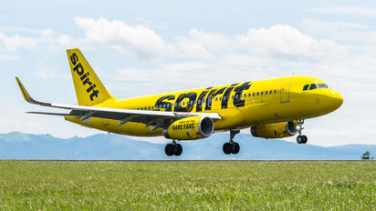 N642NK - Spirit Airlines Airbus A320