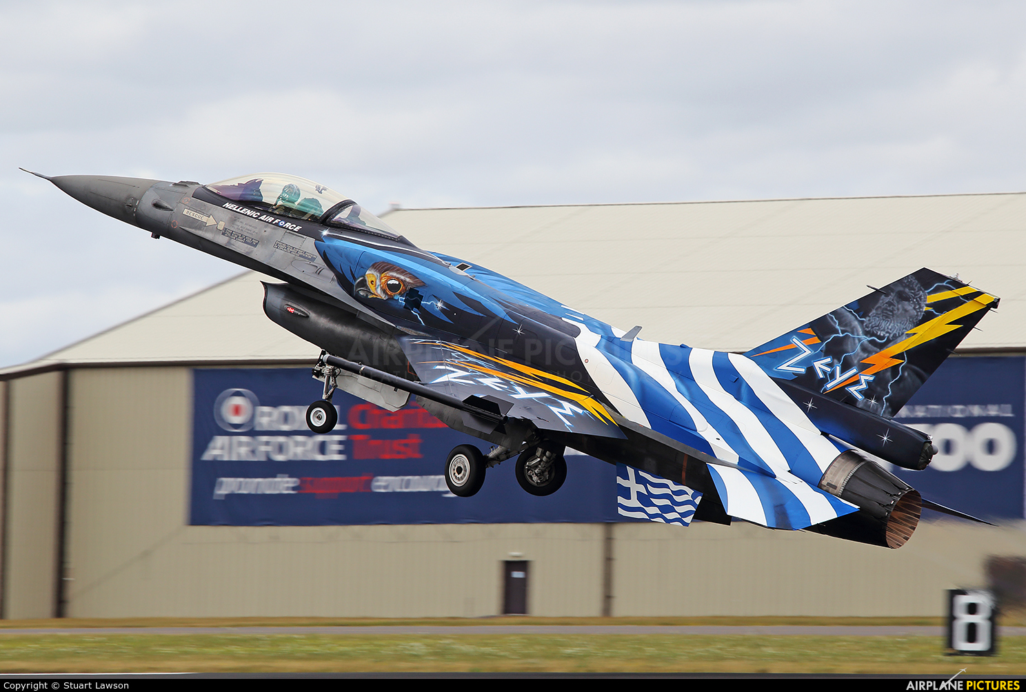 Greece - Hellenic Air Force 523 aircraft at Fairford