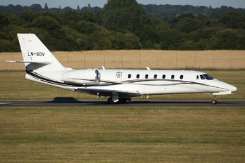 LN-SOV - Private Cessna 680 Sovereign