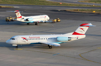 OE-LFQ - Austrian Airlines/Arrows/Tyrolean Fokker 70