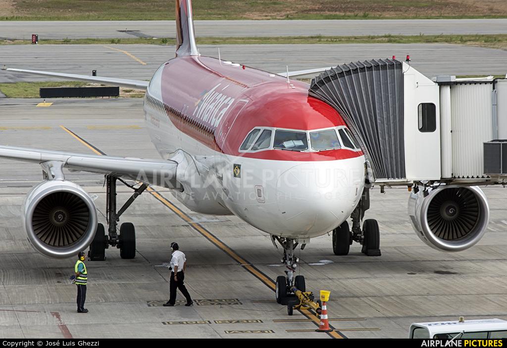 Avianca Brasil PR-ONX aircraft at Natal - Augusto Severo