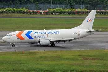 PK-MYU - My Indo Airlines Boeing 737-300F