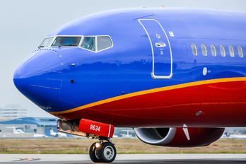 N8634A - Southwest Airlines Boeing 737-800