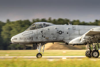 81-0988 - USA - Air Force Fairchild A-10 Thunderbolt II (all models)