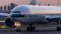 B-HNQ - Cathay Pacific Boeing 777-300 aircraft
