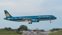 VN-A336 - Vietnam Airlines Airbus A321 aircraft