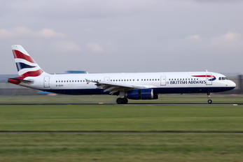 G-EUXI - British Airways Airbus A321
