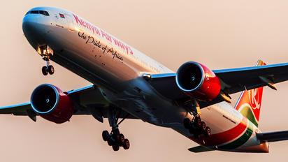 5Y-KZY - Kenya Airways Boeing 777-300ER