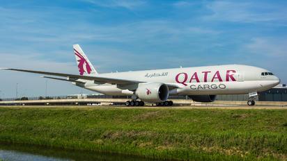 A7-BFC - Qatar Airways Cargo Boeing 777F